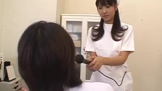 Misato Kuninaka, Asian nurse, drilled with toys  wild-nurse speculum shiofuky close-up sexy-lingerie gaping-hole dildo mom sex-toys ass-insertion toy-insertion squirting vibrator nipple-pinching misc mother