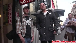 Preview 1 of Cocksucking dutch hooker spoils tourist