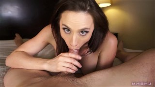MHBHJ - Chanel  throating babe big-tits point-of-view marks-head-bobbers mhb blowjob natural-boobs pov mark-rockwell edging brunette the-pose mhbhj chanel-preston bare-feet