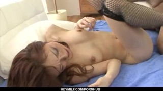 Great hardcore sex with amazing Sara Seori uniform hardcore-action cock-sucking doggy-style sexy-stockings nice-ass pussy hot-milf heymilf black-stockings hairy-pussy
