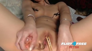 Millana Displays Her Mad Anal Play Fetish Skills
