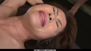 Dashing hardcore group sex with office lady, Maki Hojo  close-up hardcore-action cock-sucking dick-riding sexy-lingerie pussy-licking facesitting office-suit double-blowjob pink-pussy squirting hot-milf group-action fingering heymilf black-stockings