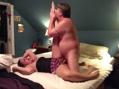 Sultry teacher fucked and creampied, before off to school...