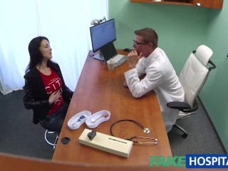 Cock Sexy Hard video: FakeHospital Sexy Russian Patient needs big hard cock to be prescribed