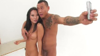 Sexy Asa Akira gets a dick and a fist in her ass  babe asian puba cumshot asaakira skinny ass-fuck fisting doggystyle ass anal-fisting blowjob pornstar tattoo first japanese