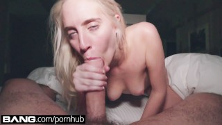 Preview 1 of BANG Gonzo: Cadence Lux Blowjob Squirting Gonzo Queen