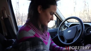 Preview 4 of New Years Road Trip Blowjob & Facial
