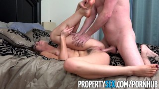 PropertySex - Hot young real estate agent really wants listing great-sex hottie blowjob big-cock natural-tits real-estate-agent cowgirl orgasm brunette propertysex missionary point-of-view facial doggystyle