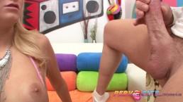 PervCity Blonde Worships a Big Dick