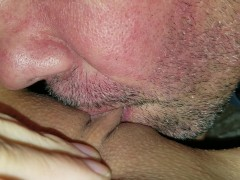 super close up clit suckng - great pussy eating