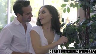NubileFilms - Lana Rhoades Seductive Tease For Step Brother