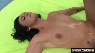 Brunette wife takes cock in front of her husband lexi-ward cumshot couple hardcore wife dothewife cuckold blowjob pussy-licking housewife cum-in-mouth pornstar