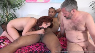 Ashley Graham Loves Big Cock Not Her Husbands  masturbation riding big-cock cuckold redhead wife husband cum-eating bisexual cumeatingcuckolds natural-tits cowgirl bull 3some cum-shot threesome