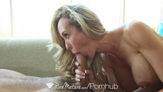 PureMature - Busty mature Brandi Love gets her aged pussy pounded  brandi-love milf hardcore old sex mom blowjob blonde cumshot mother puremature big-tits big-dick hd busty booty doggystyle