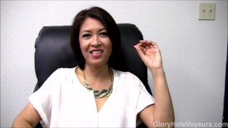 Asian Milf Gloryhole Interview Blowjob mother gloryholevoyeurs glory-hole glory-hole-surprise gloryhole-fuck mom gloryhole-swallow gloryhole interview fake-interview