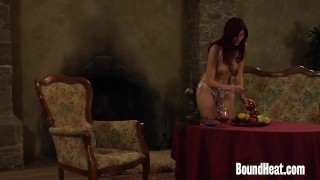 Mistress Enjoying In Young Slave Body And Strapon  beauty strapon babe slave lesbian-orgasm euro lesbian-strap-on kink lesbian boundheat girl-on-girl lesbian-strapon european mistress orgasm lesbian-sex