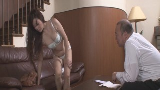Japanese porn with an old guy for Mizuki Ogawa  vibrator toys milf housewife heymilf adult-toys pussy-licking
