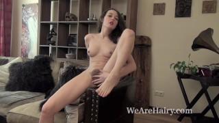 Ksenia Yankovskaya strips and enjoys her body