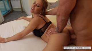 Nicole Aniston fucks her proposing suitor's big dick - Tonight's Girlfriend  big-cock trimmed-pussy escort blonde pornstar big-boobs fake-tits hard-fast-fuck glam pounded hardcore curvy drilled big-dick escort-porn tonightsgirlfriend nicole-aniston tonight-girlfriend