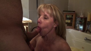 mom milf mother old cougar cock-suck canada canadian ontario quebec facial cum-swallow old-woman-young-boy pornhub-member pornhub-subscriber bathroom-blowjob