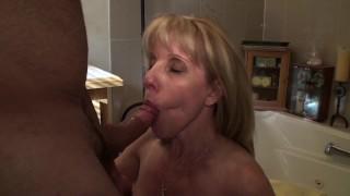 mom milf mother old cougar cock-suck canada canadian ontario quebec facial cum-swallow old-woman-young-boy pornhub-member pornhub-subscriber bathroom-blowjob