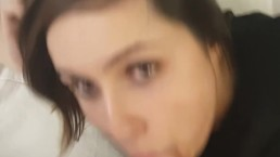Horny Marie Swallows Cum