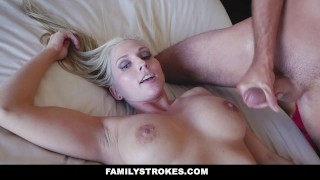 FamilyStrokes - Seduced BY My Hot Gold-Digging Step-Mom  step-mom-fucks-son big-cock big-tits step step-son wife mom blonde cumshot big-boobs busty milf familystrokes mother stepmom christie-stevens